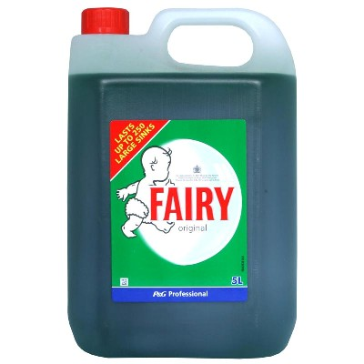 Fairy Washing Up Liquid Original 5Ltr