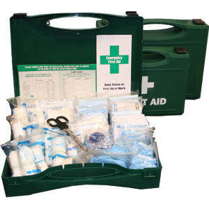 BS – 8599-1 Compliant Large Workplace First Aid Kits 1 – 50