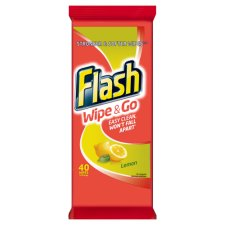 Flash wipe N Go 40's Lemon
