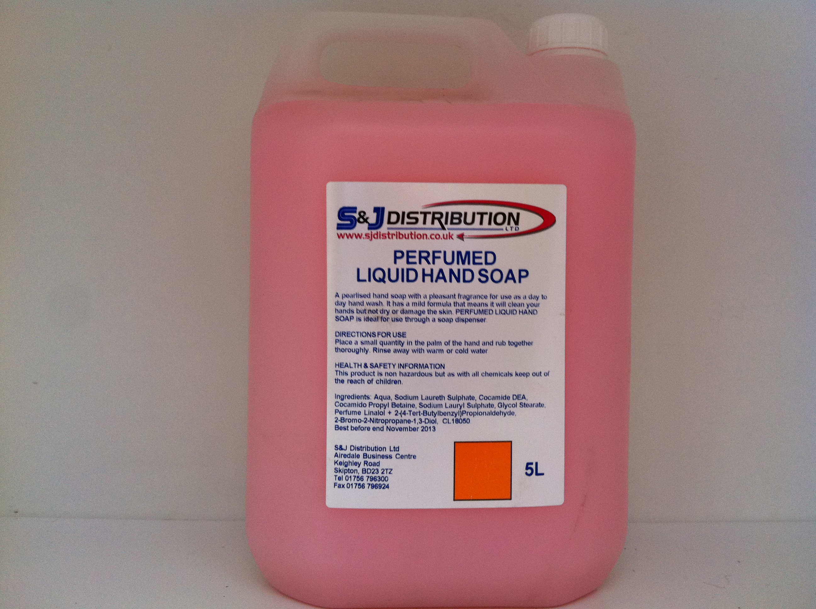 Pink Perfumed Hand Soap 5ltrs