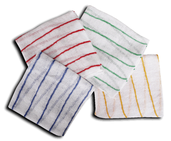 Antibacterial colour coded dishcloth - Blue