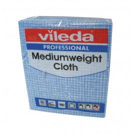 Vileda Professional Medium Weight Cloths - Blue