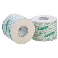 Bay West Ecosoft Toilet Roll - 2ply White 71.25m 625 sheets per