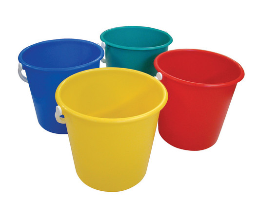 Plastic Bucket 10ltr Colour Coded G And J Tissues