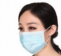 Non-Woven 3ply Surgeons Masks With Ear Loops - Case of 50
