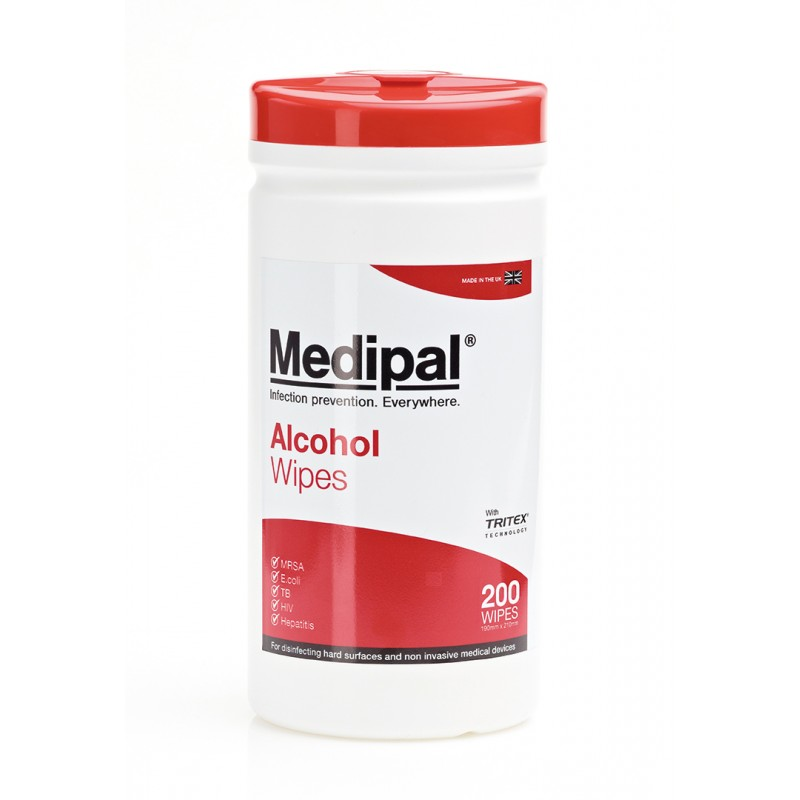 Medipal Alcohol Wipes 1 x 200
