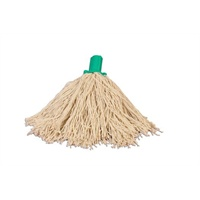 Excel Twine Mop Head - Green 200grm