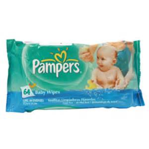 Pampers Baby Wipes 60s - 12 per case