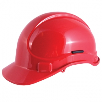 Vented 8 Point HDPE Safety Helmet