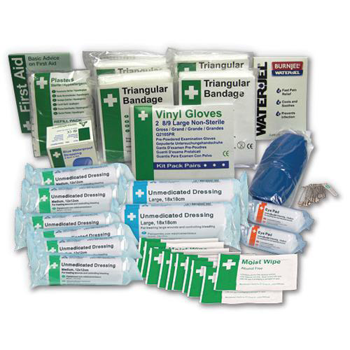 BS – 8599-1 Compliant First Aid Kit Refill 1 – 50 persons