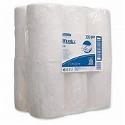 Kimberly-Clark Wypall Wiper on a Centrefeed Roll One Ply (White)